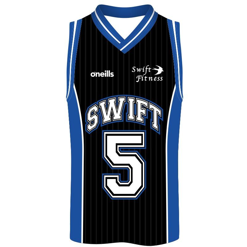 Swift Fitness Kids' Basketball Vest (Black)