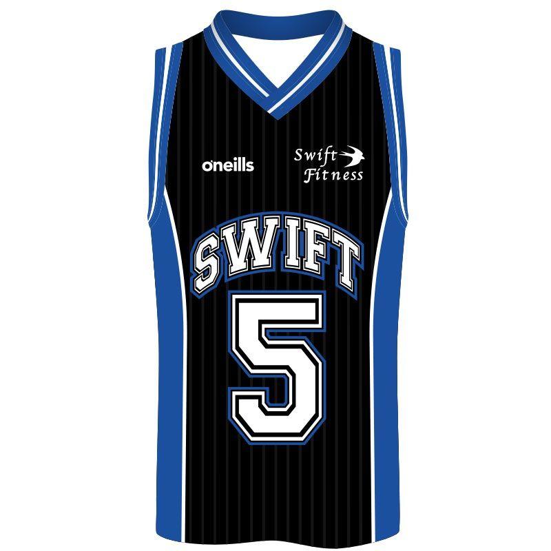Swift Fitness Basketball Vest (Black)