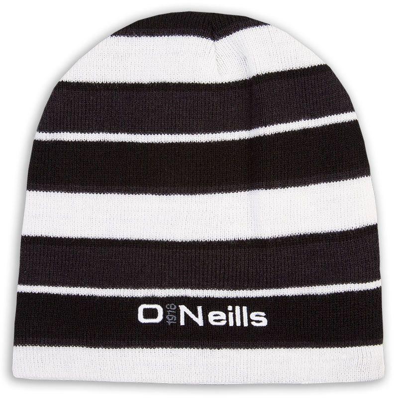 Beacon Beanie Hat Black / White