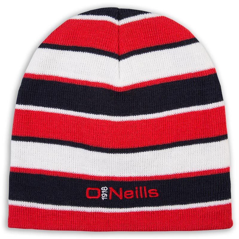 Beacon Beanie Hat Marine / Red / White
