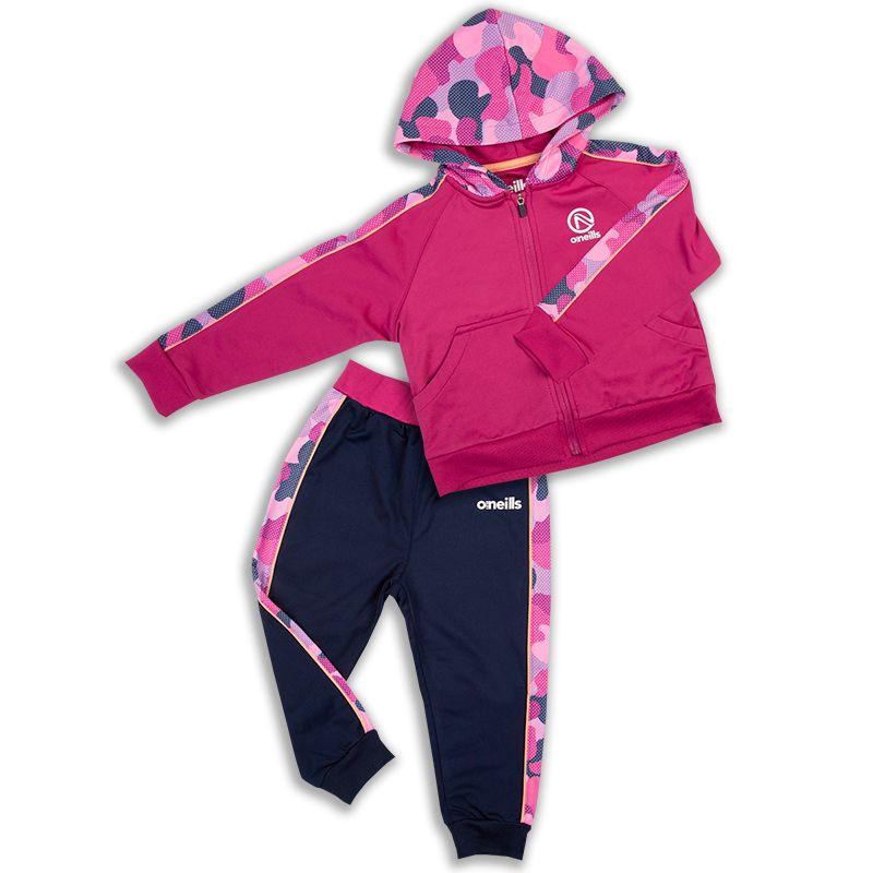 Kids' Billie Brushed Infant Suit Marine / Pink