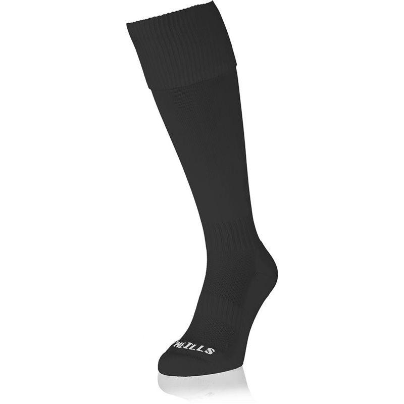 Premium Socks Plain (Black) (Kids)