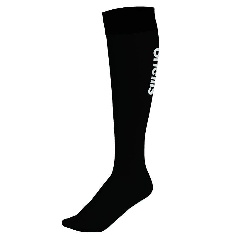 Wycombe Wanderers FC Men's Black Keeper Sock