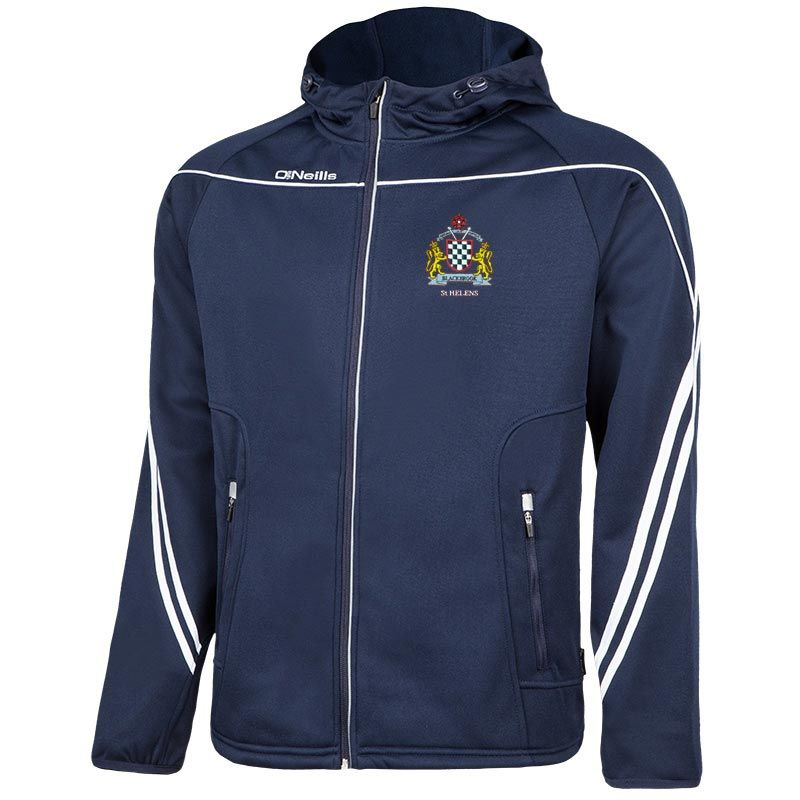 Blackbrook Open Age Parnell 2-Stripe Full-Zip Performance Hoodie