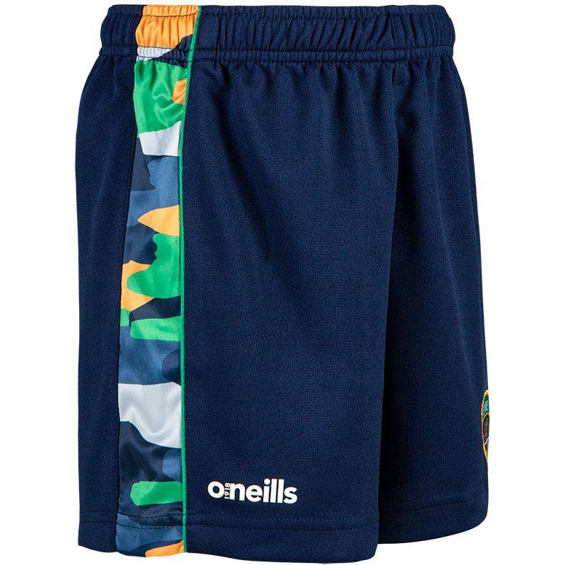Kids' Eire Bobby Training Shorts Marine / Green / White