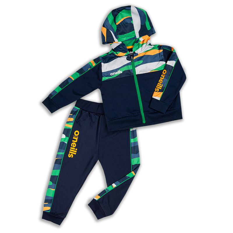 Kids' Eire Bobby Brushed Infant Suit Marine / Green / Amber