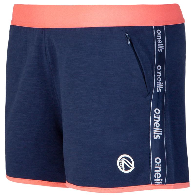 Women's Brodie French Terry Leisure Shorts Marine / Pink