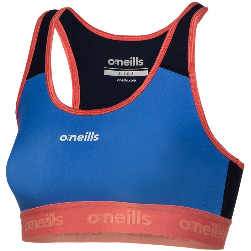 Women's Brodie Sports Bra Top Royal / Pink