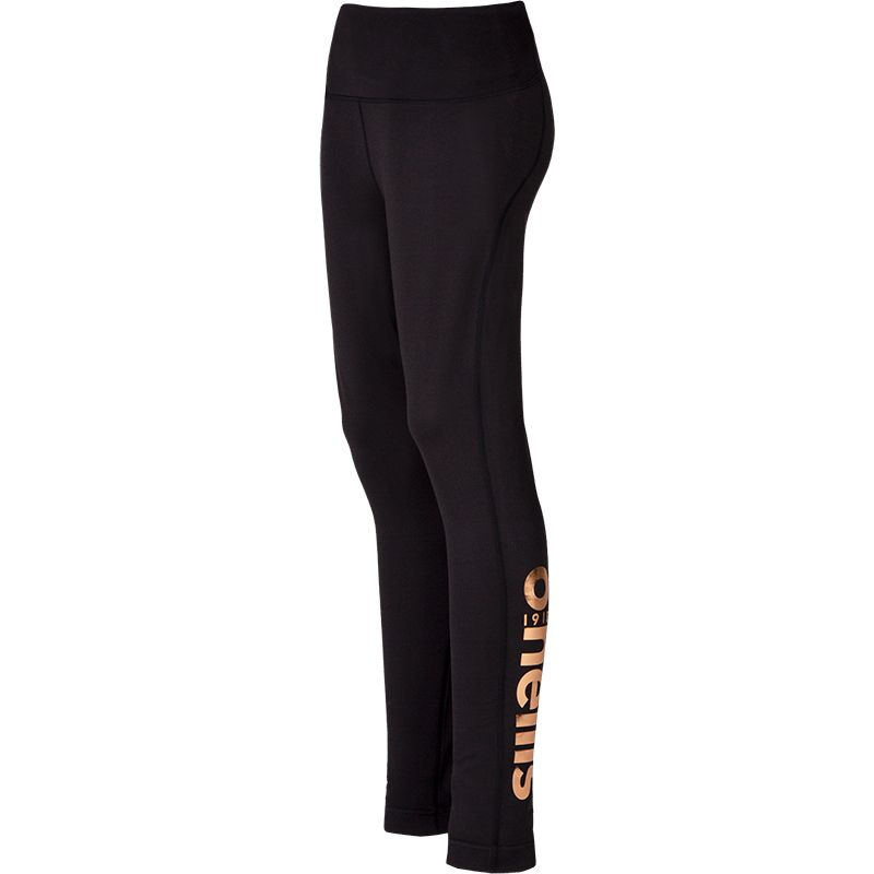 Women's Brodie Leggings Black / Gold