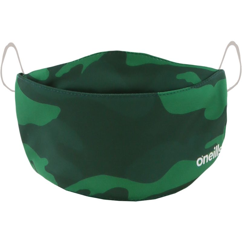 Reusable Face Mask Green Camo