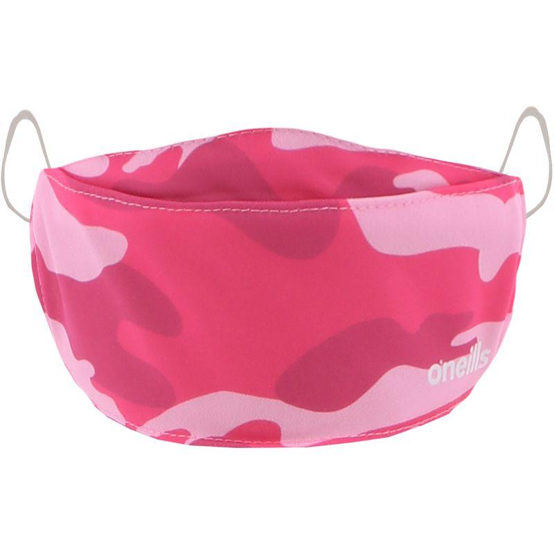 Reusable Face Mask Pink Camo