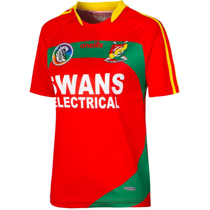 Carlow Camogie Away Jersey (Red)