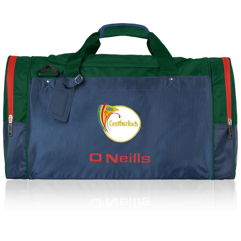 Carlow GAA Denver Bag Marine / Bottle / Red