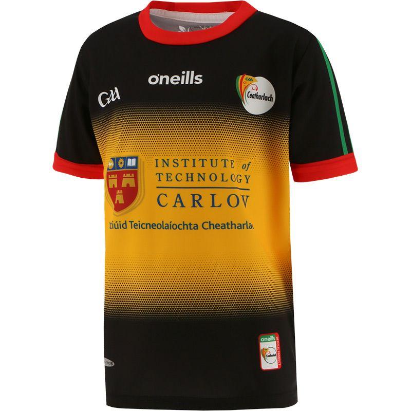 Carlow GAA Kids' 2 Stripe Goalkeeper Jersey