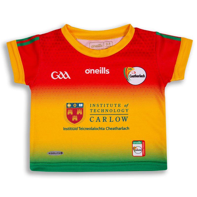 Carlow GAA Baby 2 Stripe Home Jersey