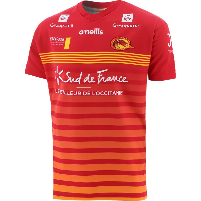 Catalans Dragons 2021 Away Replica Rugby Jersey