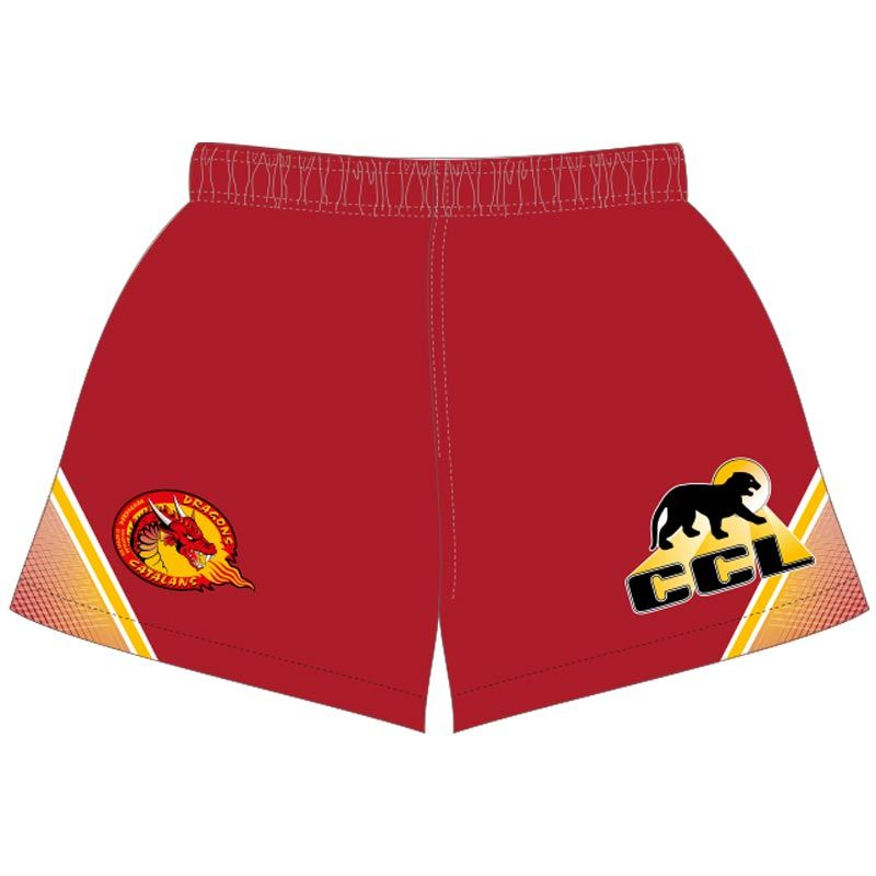 Catalans Dragons 2020 Away Rugby Shorts