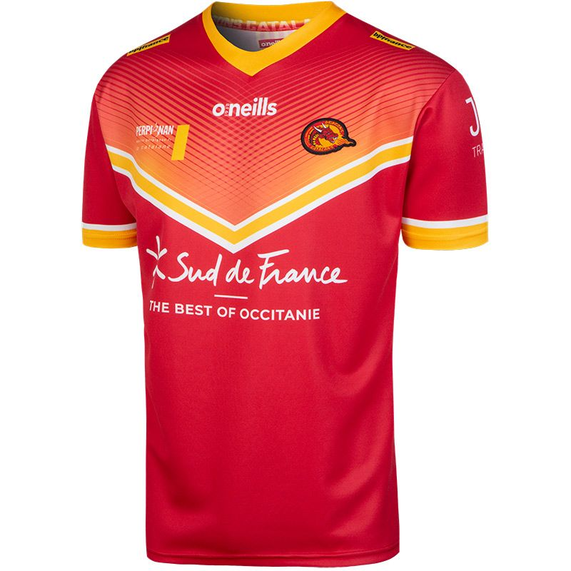 Catalans Dragons 2020 Away Replica Rugby Jersey