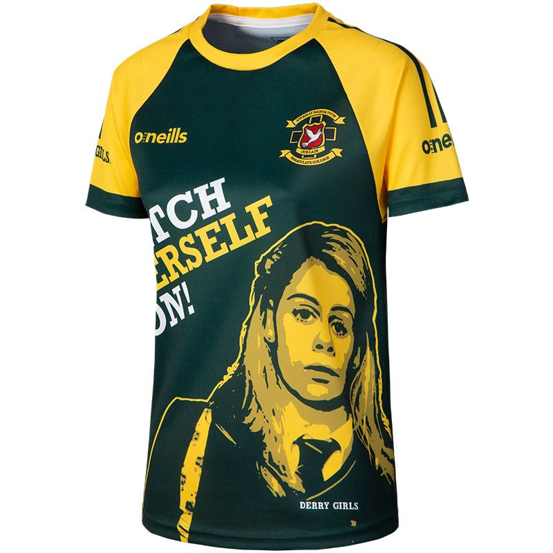 'Catch Yerself On' Women's Derry Girls Jersey