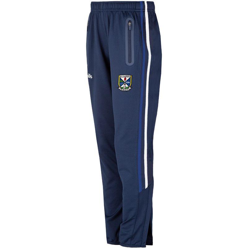 Cavan GAA Kids' Nevis Brushed Skinny Pants Marine / White / Royal