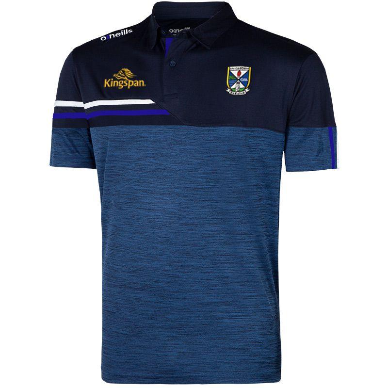 Cavan GAA Men's Nevis Polo Shirt Marine / White