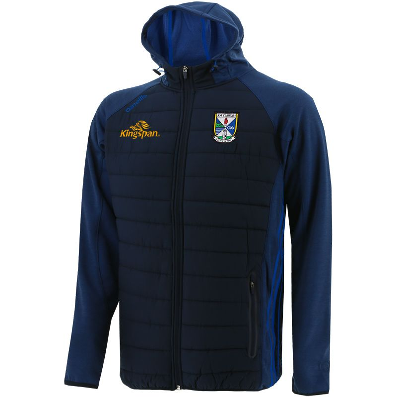 Cavan GAA Men's Portland Light Weight Padded Jacket Marine / Royal