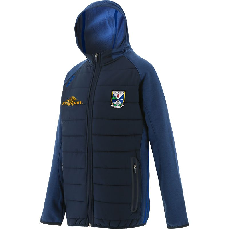 Cavan GAA Kids' Portland Light Weight Padded Jacket Marine / Royal