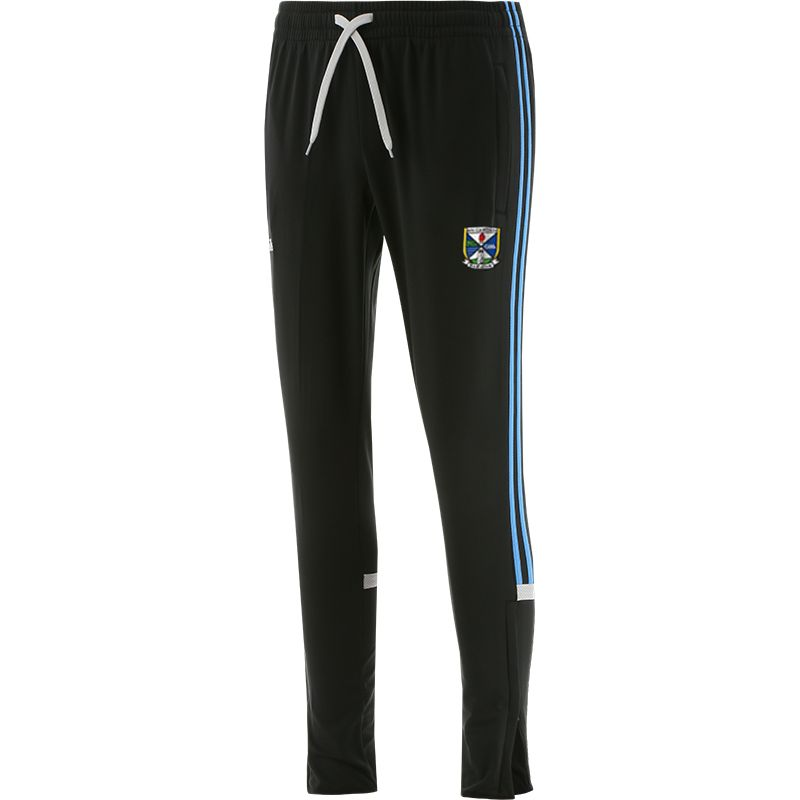 Cavan GAA Men's Raven Brushed Skinny Bottoms Dark Grey / Blue / Silver