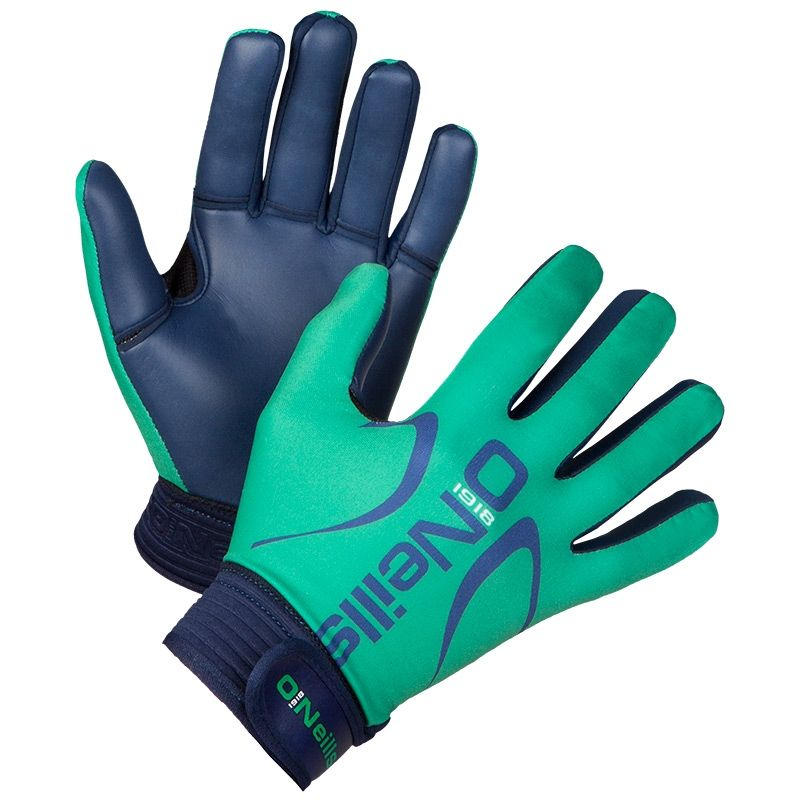Challenge GAA Gloves (Emerald/Marine) (Kids)