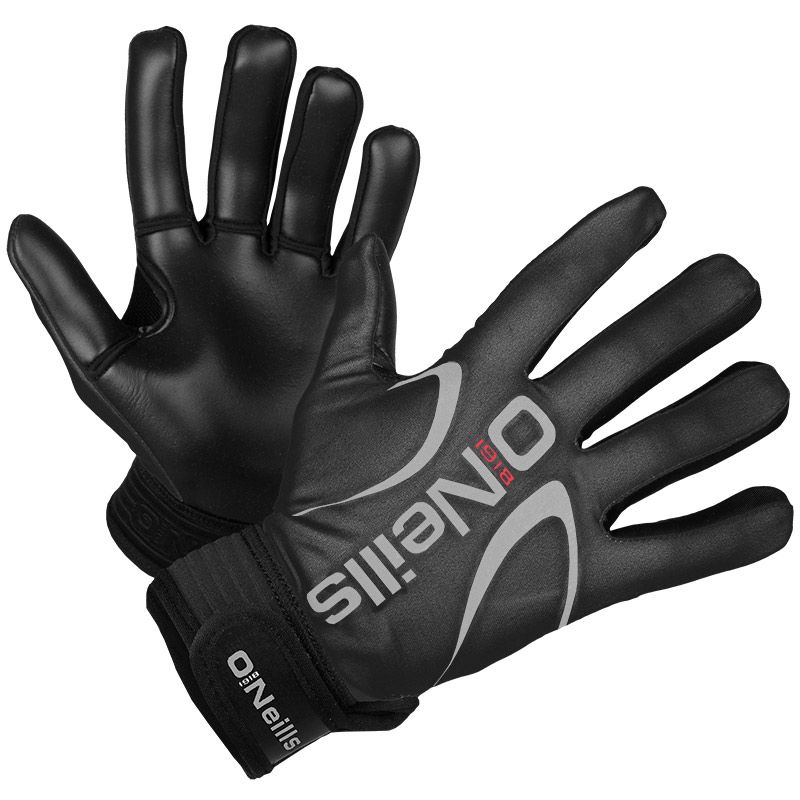 Challenge Gloves (Black/Silver)