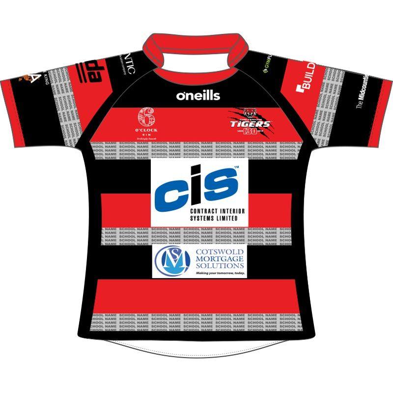 Cheltenham Tigers Kids' Rugby Replica Jersey