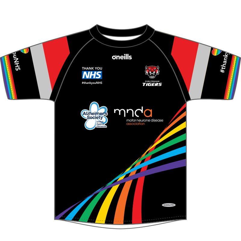 Cheltenham Tigers Kids' Printed T-Shirt