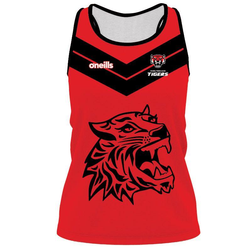 Cheltenham Tigers Women's Athletics Vest