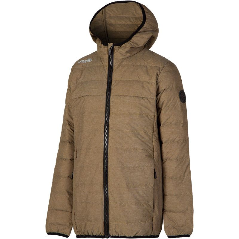 Kids' Chester Down Filled Hooded Jacket Khaki