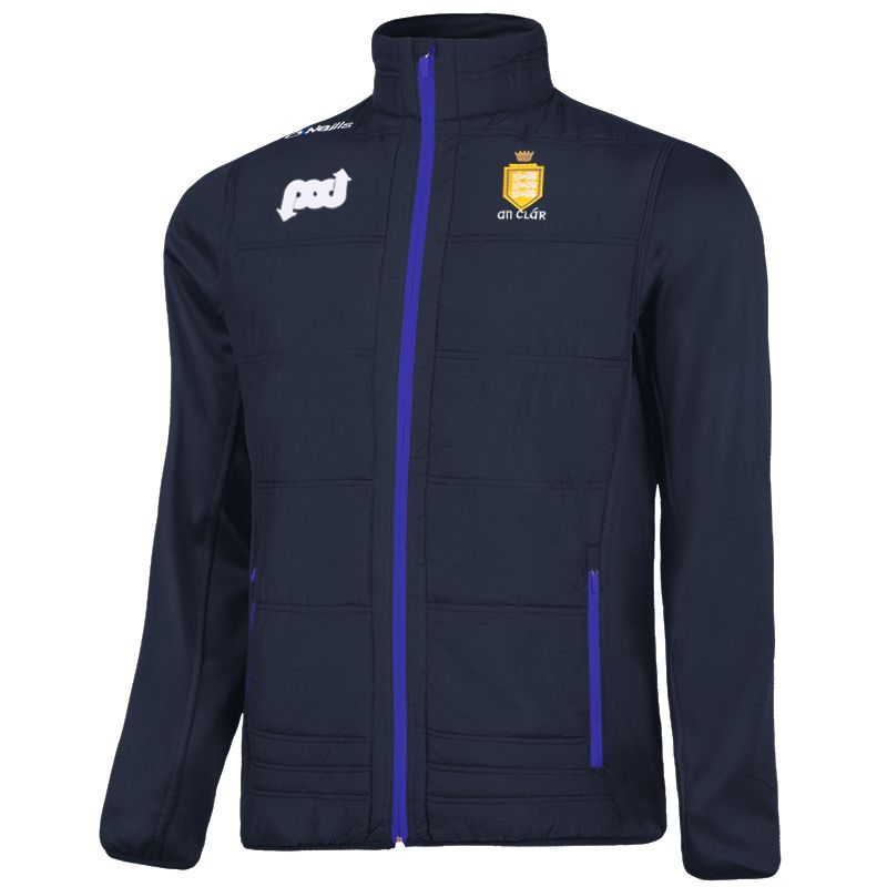 Clare GAA Men's Eddie Padded Jacket Marine / Royal