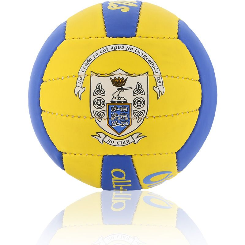Clare GAA All Ireland Mini Gaelic Football Amber / Royal