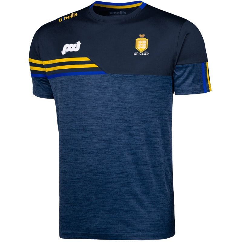 Clare GAA Kids' Nevis T-Shirt Marine / Amber