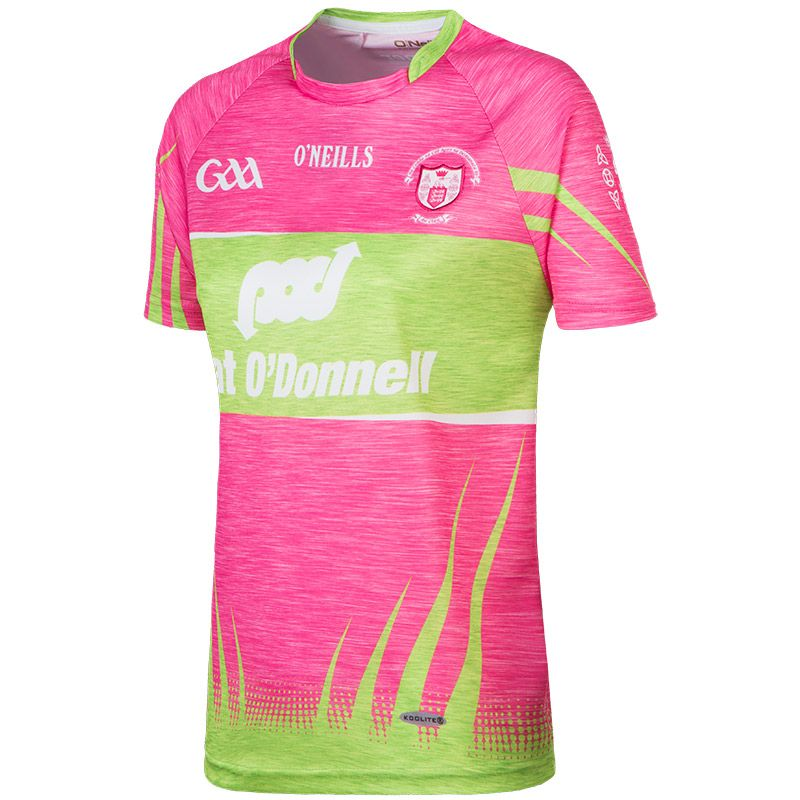 Clare GAA Womens Fit Jersey (Pink)