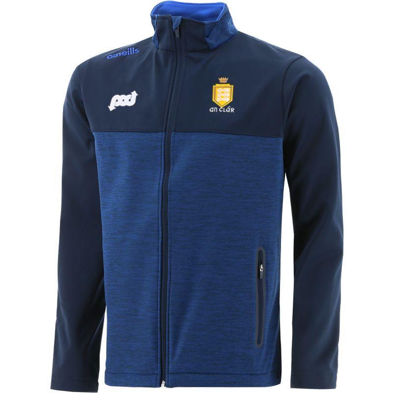 Clare GAA Men's Portland Soft Shell Jacket Marine / Royal