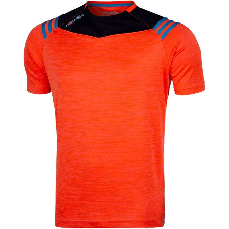 Colorado 3S T-Shirt (Melange Tonal Flo Orange/Marine/Swedish)