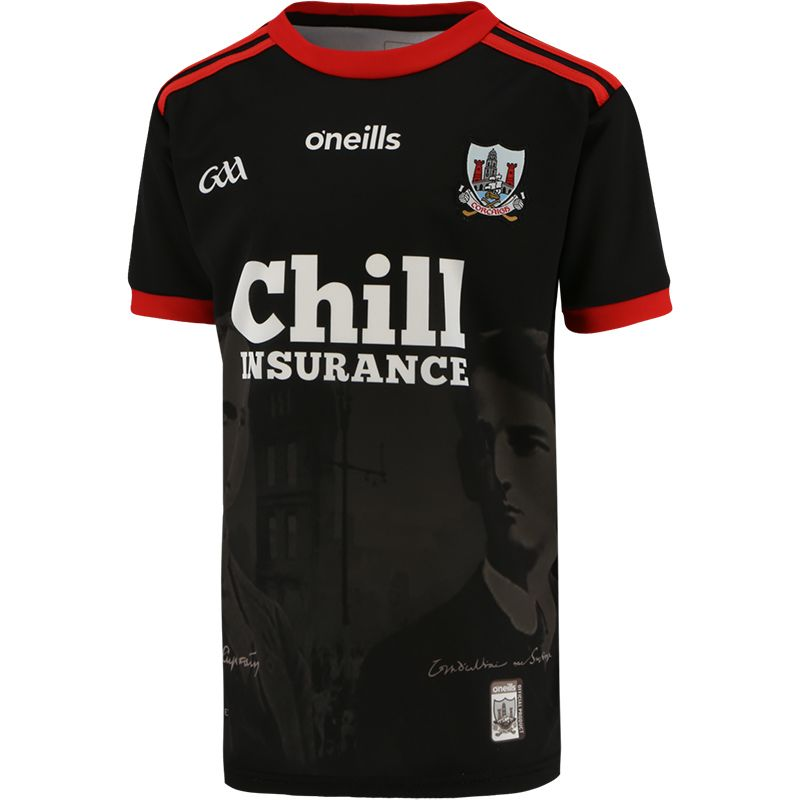 Cork GAA Kids' 1920 Commemoration Jersey Black