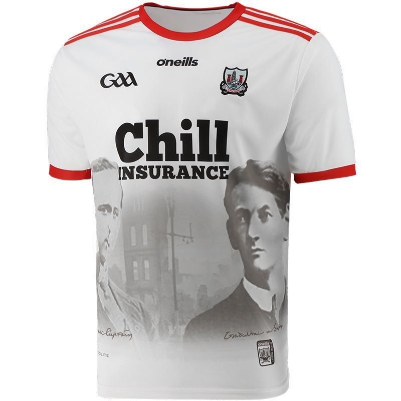 Cork GAA 1920 Commemoration Jersey White