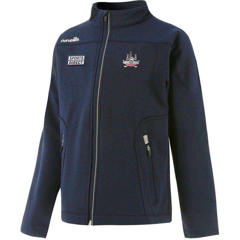 Cork GAA Kids' Decade Soft Shell Full Zip Jacket Marine