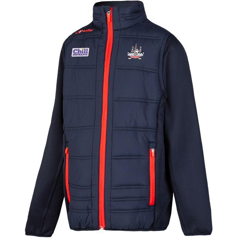 Cork GAA Kids' Eddie Padded Jacket Marine / Red
