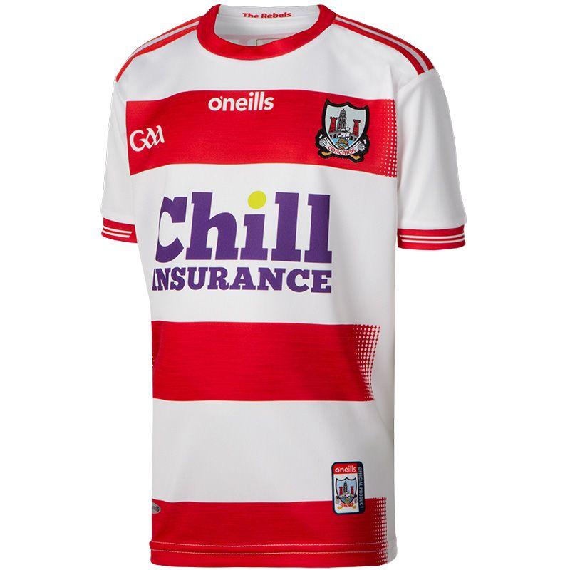 Cork GAA Kids' Goalkeeper 2-Stripe Jersey