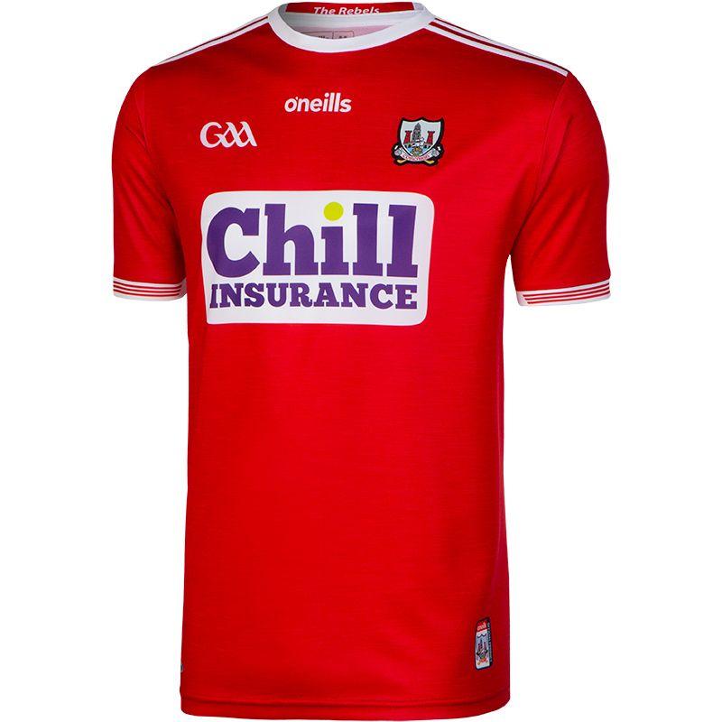 Cork GAA Player Fit Home Jersey