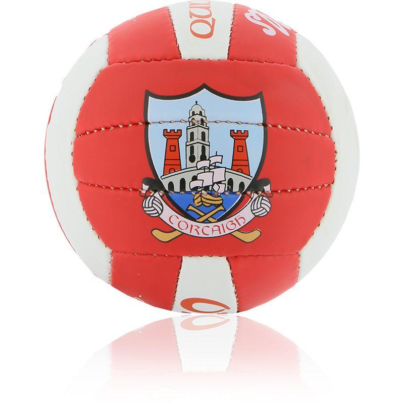 Cork GAA All Ireland Mini Gaelic Football Red / White