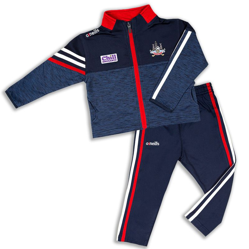 Cork GAA Kids' Nevis Brushed Infant Suit Marine / White / Red