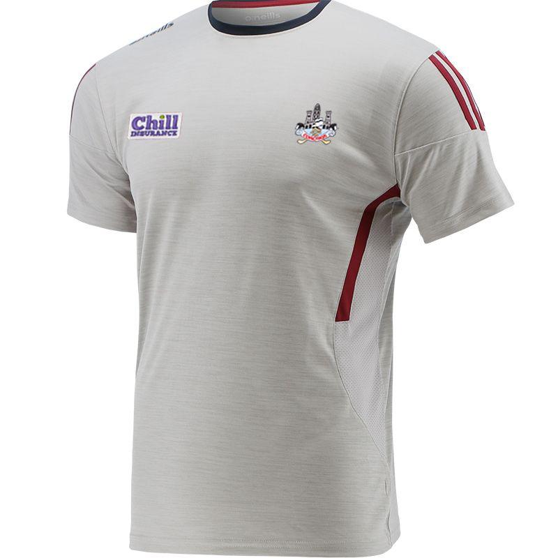 Cork GAA Kids' Raven T-Shirt Silver / Maroon / Marine