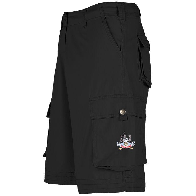 Cork GAA Toulon Cargo Shorts (Black)